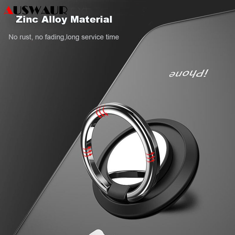 Mini Finger Ring Holder For IPhone 11 Pro Samsung Huawei HTC LG XIAOMI Smart Phone Mobile Back Ring Holder Car Holder Partner