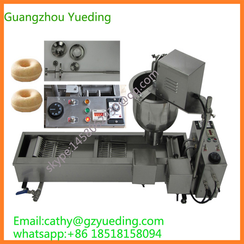 Automatic Doughnut Factory: Full Automatic Mini Donut Machine, Donut Fryer, Mini
