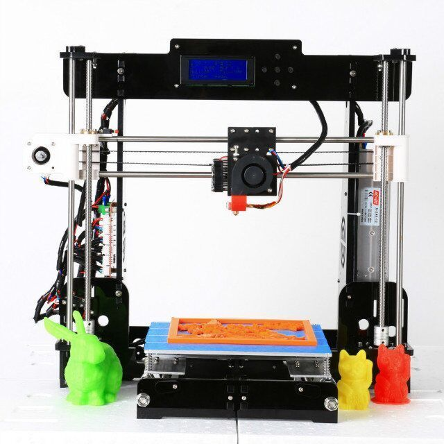 3D Drucker A8 Kit Prusa I3 Normal 3D Printer 0 4mm Nozzle i3 Aluminium Alloy Hotbed Pritner DIY Kit Filament USA Stock in 3D Printers from Computer Office