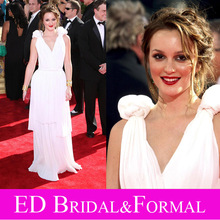 Leighton Meester Berühmtheit Abend Prom Formal Pageant Kleid 61st Primetime Emmy Awards Roter Teppich