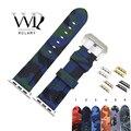 Rolamy 38 40 42 44mm Camo Blau Grün Wasserdichte Silikon Gummi Ersatz Handgelenk Armband Loops Für Iwatch Serie 4 /3/2/1