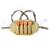 WWII US AMRY THOMPSON CHEST RIG MAGAZINE 4 CELL 30 ROUNDS MAGAZINE AMMO POUCH US.CN/104120