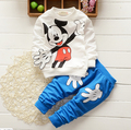 New spring cotton baby boy clothes long sleeve t-shirt + pants set infant boys baby clothes suits Baby chidlren ST171