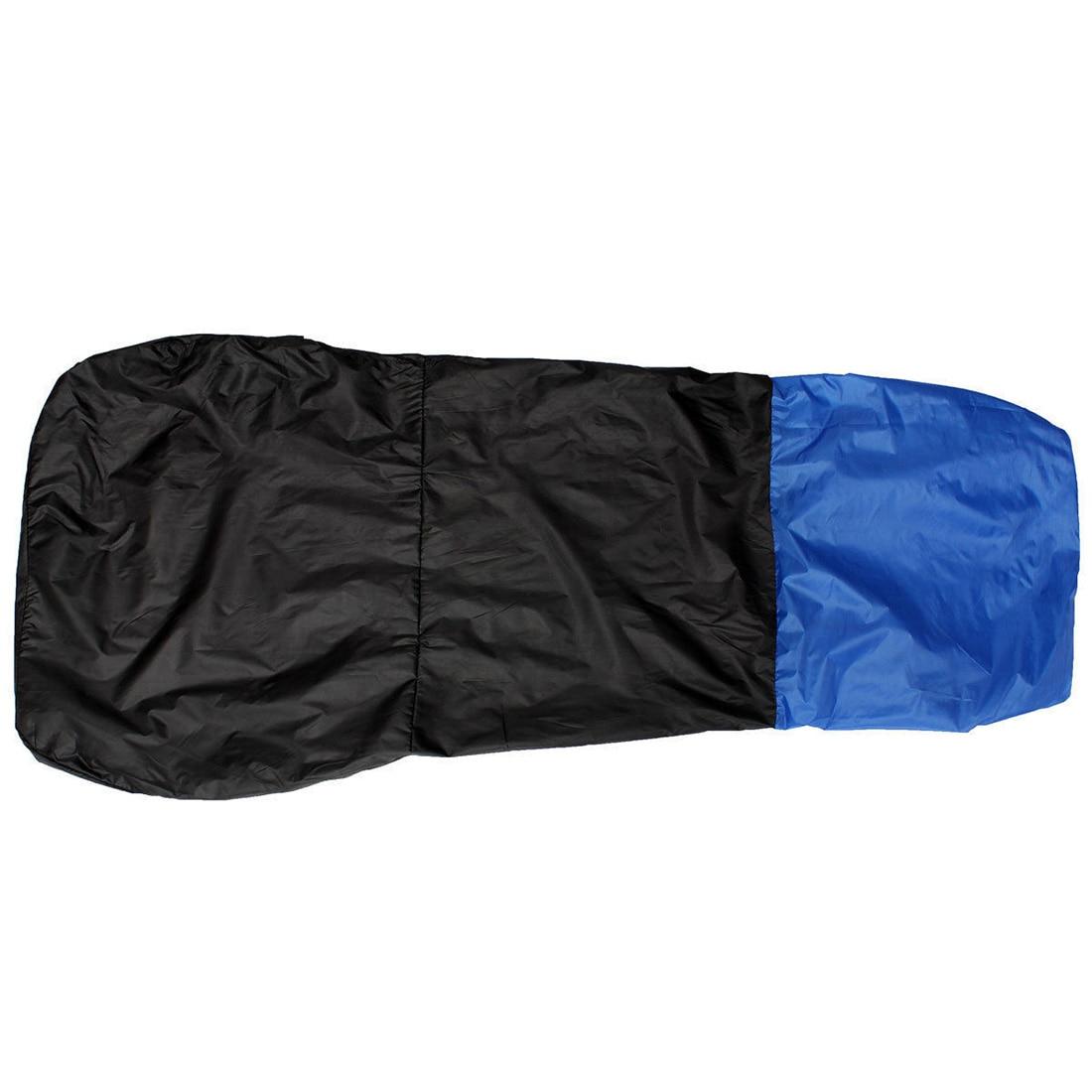 Promotion! 2 Universal CAR/VAN WATERPROOF Nylon BLUE / BLACK FRONT SEAT COVERS / PROTECTORS