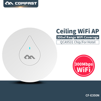 COMFAST CF-E350N 300Mbps Ceiling AP 802.11b/g/n wireless AP wifi coverage router 16 Flash WiFi Signal Access Point 48V POE power
