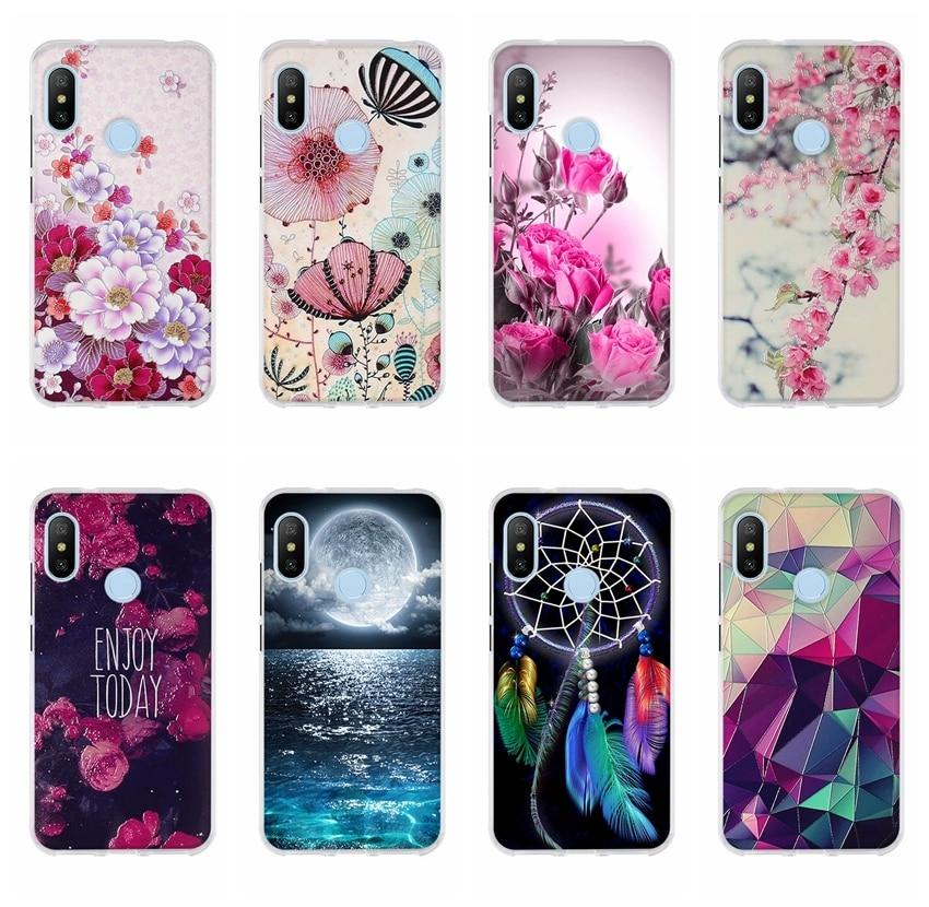 04a517794e5 Case For Xiaomi MI A2 LITE Cover For Coque Redmi 6 Pro Case TPU Soft  Silicone Back Cover For Funda Xiomi MI A2 LITE Phone Cases