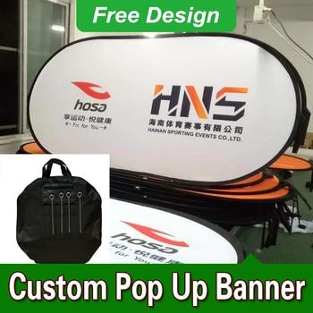 Free Design Free Shipping Horizontal A Frame Banner Pop Up A Frame Banner Sideline A Frame Signs