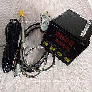 Image 1 - ZHYQ PT124G 121 Melt High Temperature Pressure Sensors for Plastic Extruder 5 Pins & Indicator N70/N80/N90 220VAC Output 2 mV/V