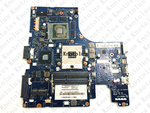 LA-9061P for Lenovo ideapad Z400 laptop motherboard ddr3 Free Shipping 100% test ok la 6758p for lenovo ideapad g770 laptop motherboard ddr3 free shipping 100% test ok