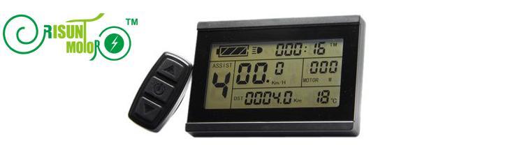 RisunMotor 36V 48V 1000W Ebike Controller+LCD+Throttle+PAS+Speed Sensor+Brake