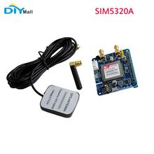3G Module US Network SIM5320A Development Board GSM GPRS GPS Expansion Board with Antenna for Raspberry Pi new arrival sim808 gprs gsm module gsm and gps two in one function module quad band with gsm antenna and gps antenna diy kit