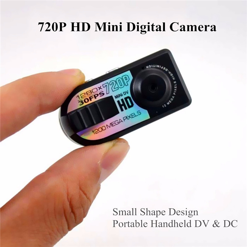 buy mini camera hd 720p 12mp thumb digital camera micro car dv dvr motion. Black Bedroom Furniture Sets. Home Design Ideas