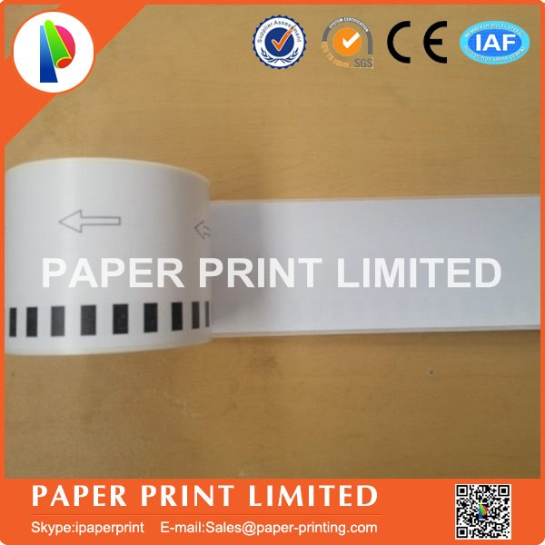 Image 2 - 5x Rolls Brother Compatible Labels barcode sticker dk22205 dk 