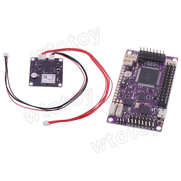 NEO-6 V3.0 GPS Module + 3DR ArduPilot Mega APM2.6 Flight Controller Board apm 2 6 flight controller board ardupilot mega 2 6 version with side pin connector for multicopter