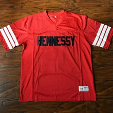 e8ceb57ed00 MM MASMIG RIP Prodigy Queens Bridge 95 Hennessy Football Jersey Stitched Red  - Shook