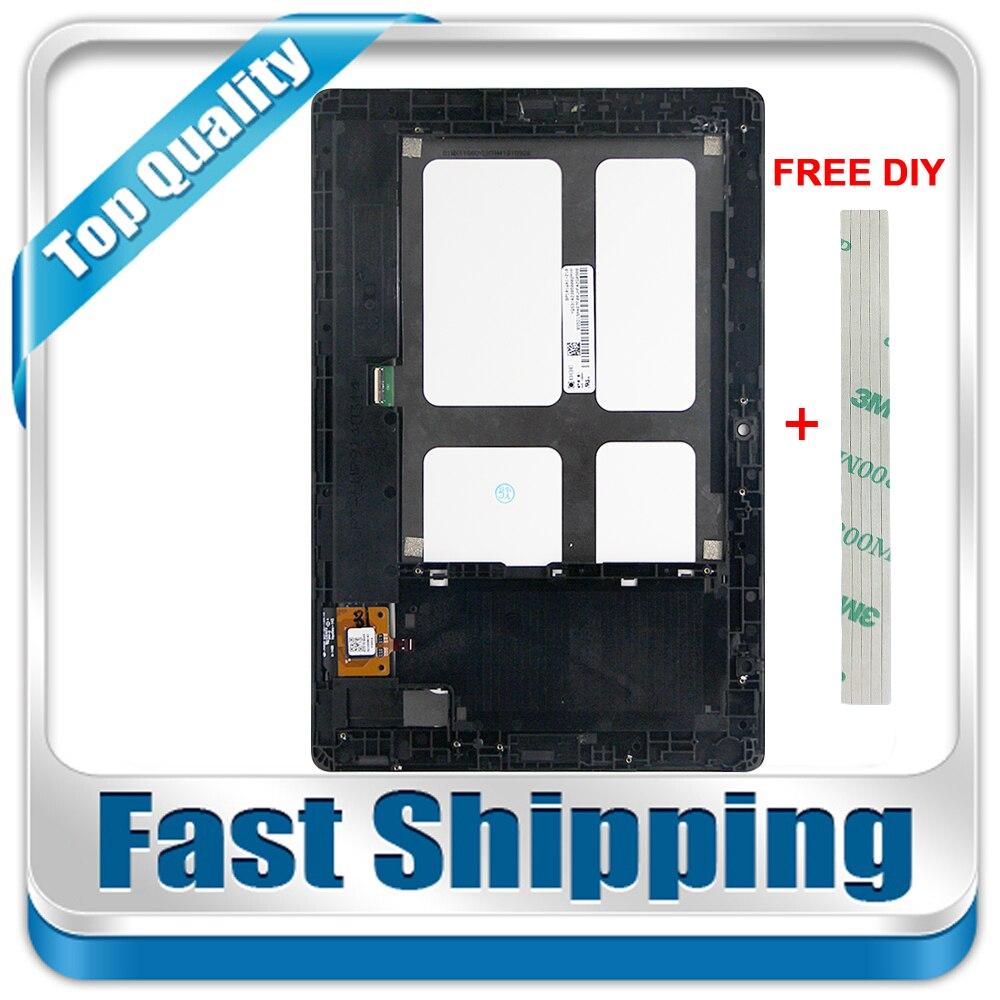 Nouveau Pour Lenovo Tab A10-70 A7600-H A7600 A7600-F Remplacement LCD Affichage Écran Tactile + Cadre Assemblée 10.1-pouces