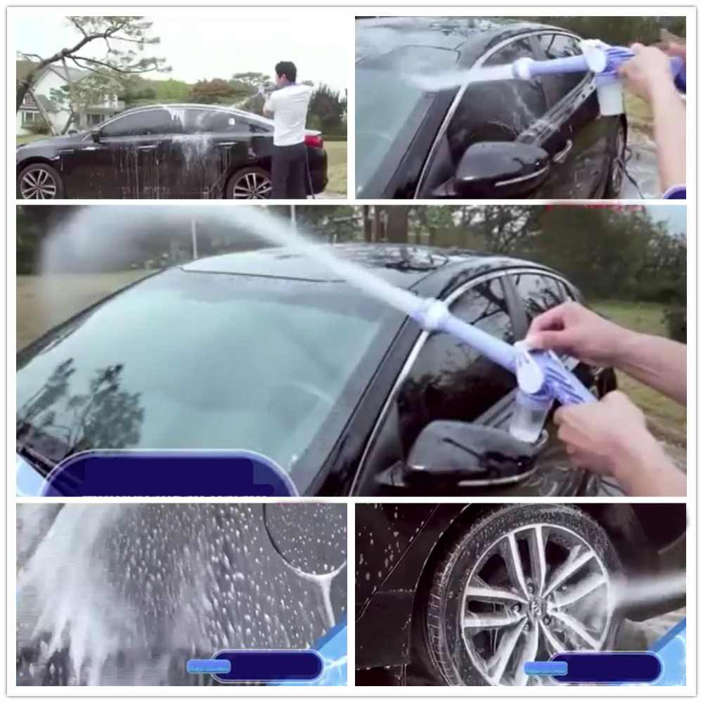 Car Washer Foam Lance 8 in 1 Multi-functional Adjustable Gun Garden Sprayer Cleaning Washing Hand Tools Jet Water Cannon