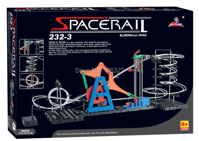 Wholesale,Second Generation Space Rail Toys,Roller coaster Level 3 have a skyrocketing rise,Space Wrap Toys,Imagination training
