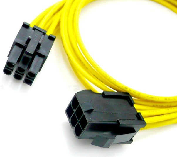 Graphics 6pin Extension Cable 6pin To 6pin Wire Harness 6