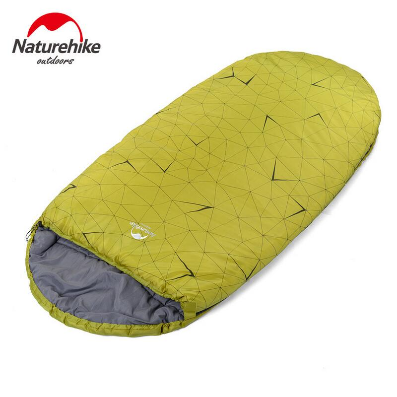 Naturehike Outdoor Camping Sleeping Bag Adult Winter Warm Indoor Lunch Break Single Person Portable Travel Hiking Sleeping Bags electric lunch box double layer stainless steel liner cooking lunch boxes multifunction plug in lunch box steamed rice steamer