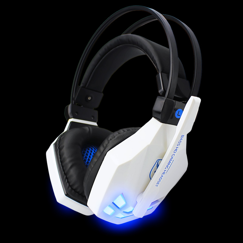 Gaming Headphone casque Soyto EACH Sy850-C Best Computer Stereo Deep Bass Game Earphone Headset with Mic with LED for PC Gamer