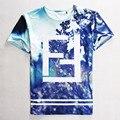 Novos homens de moda / women ' s Harajuku flor Homme Femme FF hip hop t - shirt camisetas encabeça manga curta t-shirt verão vestidos camisas