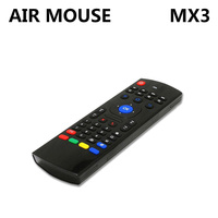 2 4GHz MX3 Wireless Keyboard 3 In1 Air Mouse Sensing Remote IR Learning With Voice Micphone