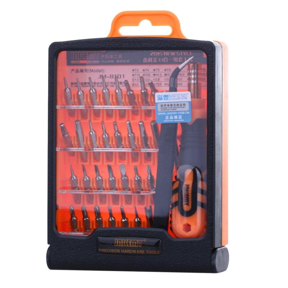 32 en 1 precisa intercambiables Manual conjunto de herramientas desmontar destornillador para teléfono portátil herramienta de reparación de apertura Kit herramientas