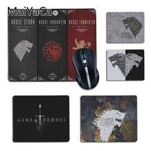 MaiYaCa Belo Jogo De Trono Filme logotipo Laptop Mousepad Gamer Anti-Slip Laptop PC Computer gaming mat mat mesa para dota2 lol(China)