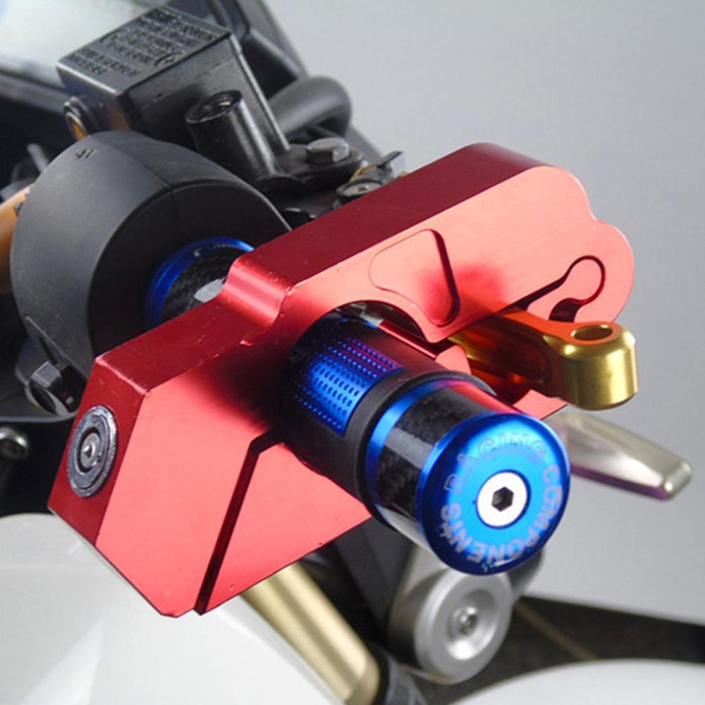 Universal Lock Motorcycle Modified Handlebar Anti-Theft Lock Aluminum Alloy Handlebar Horn Lock