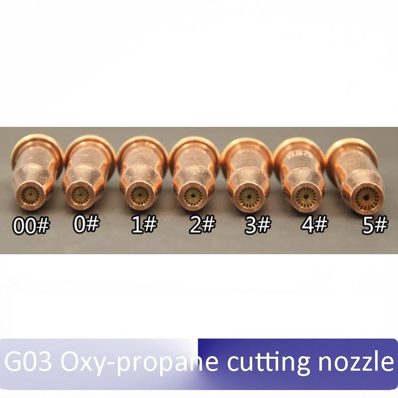 1pcs Propane G03-2 Nozzle for Torch Track Burner CG1 Gas Cutting machine Cutter