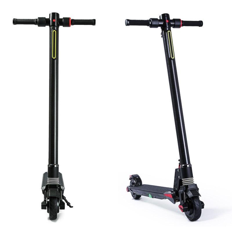 2018 new dual motors foldable electric scooter carbon. Black Bedroom Furniture Sets. Home Design Ideas