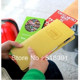 Free Shipping Travel Passport Boarding Pass Ticket Wallet Available