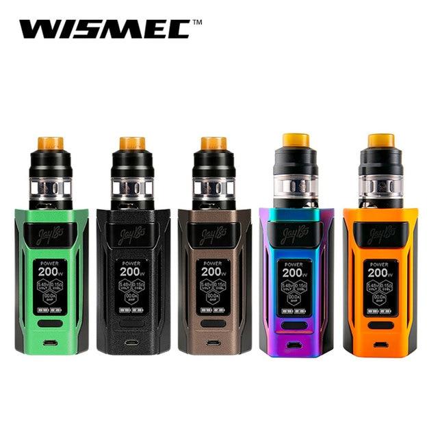 Оригинальный wismec reuleaux RX2 20700 комплект с гном распылитель 4 ML fit WM спиральная электронная сигарета vape комплект