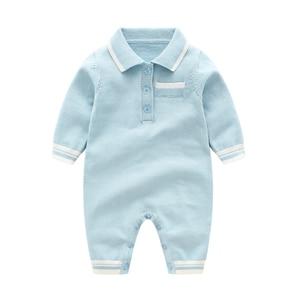 Image 4 - רגש אמהות חורף תינוק Rompers תינוק ילד בגדי סוודר תרמית יילוד תינוקת בגדים ארוך שרוול תינוק סרבל