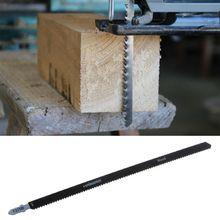 250 مللي متر HCS الترددية شفرة المنشار للألواح ورقة الخشب الصلب المعادن قطع النجارة السلامة