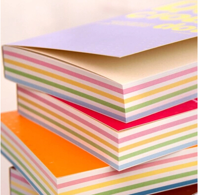 New Style Lovely Creative Colorful Pages Diary Notebook School