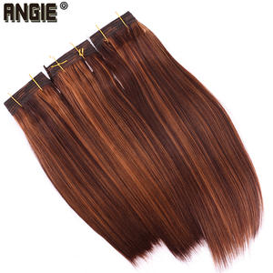 Angie Synthetic-Hair-Extensions Hair-Bundles Straight Fashion 100-Gram Soft One-Piece