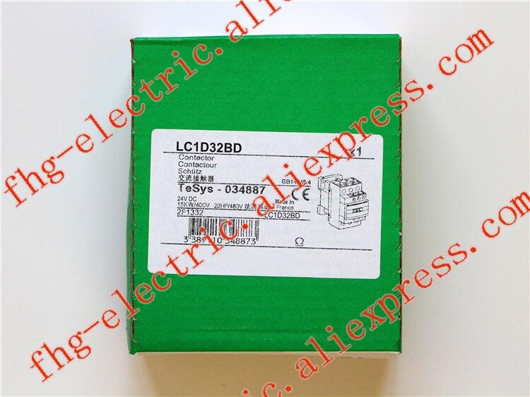 TeSys D Contactor 3P 32A LC1D32 LC1D32BD LC1-D32BD 24V DC 24VDC