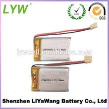 3 X ultra dünne LP402030 3,7 v 200 mah li-po batterie für smartwatch