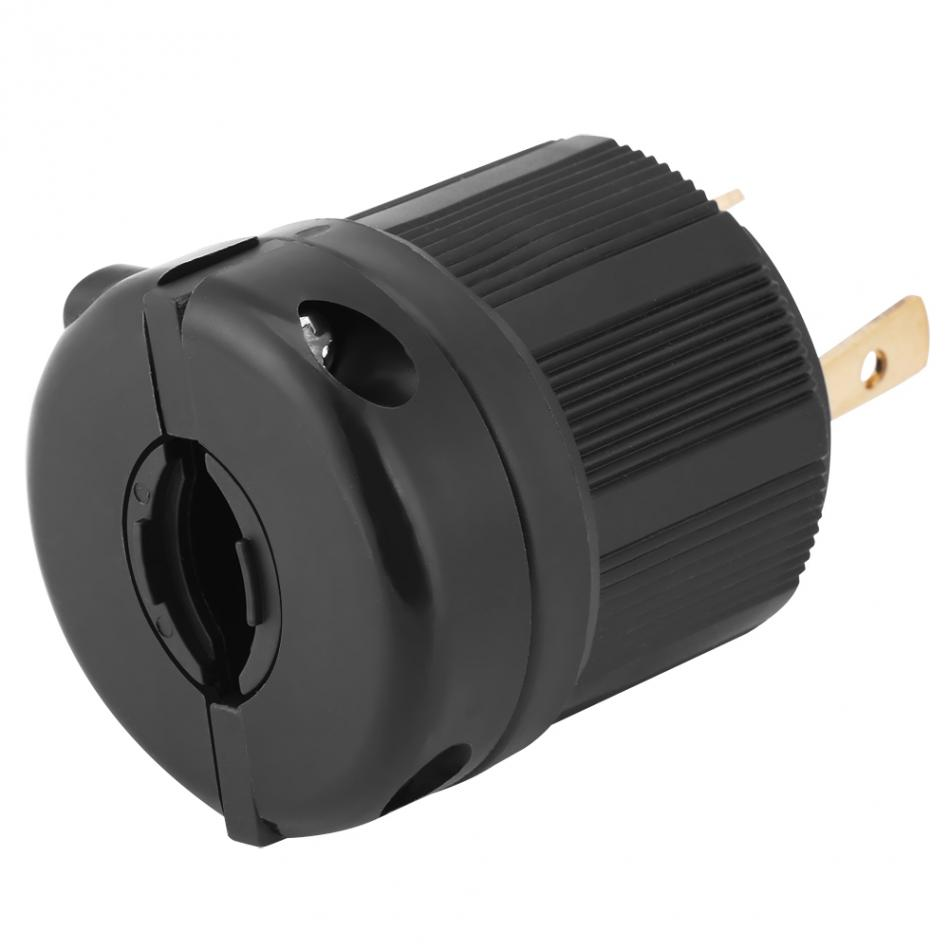hight resolution of twist lock electrical plug adapter socket nema generator plug converter l5 30 30a 125v 3 wire electrical charger plug in ac dc adapters from home