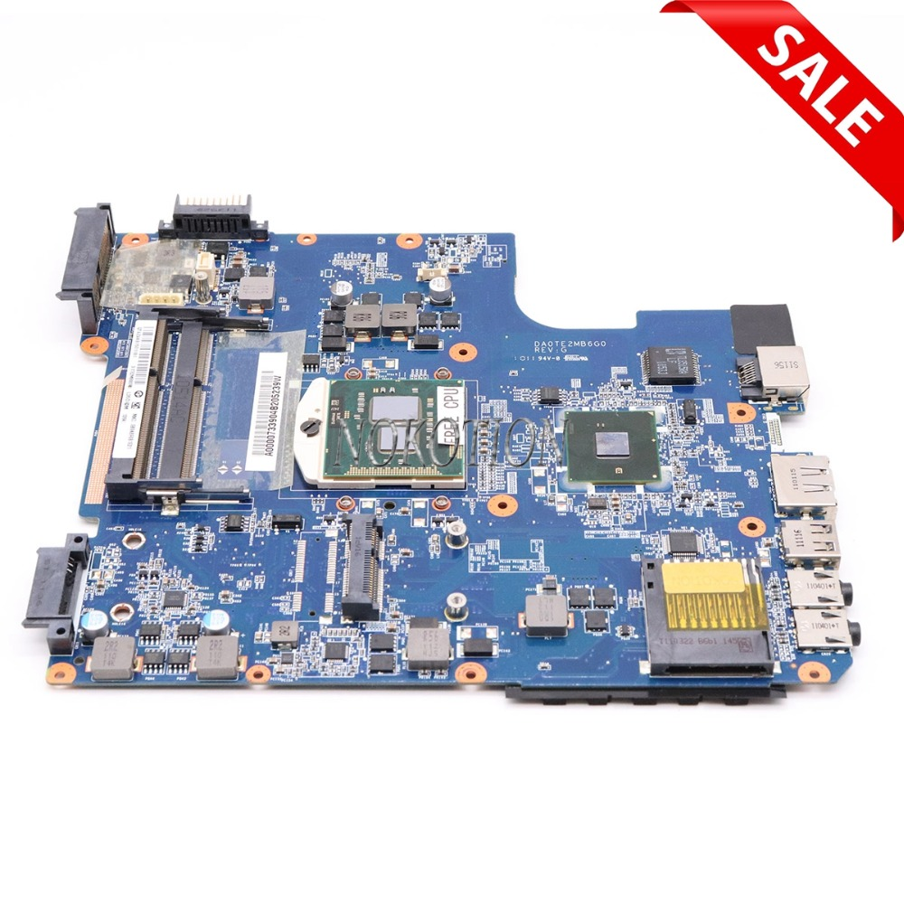 NOKOTION Main board A000073390 DA0TE2MB6G0 REV G For toshiba satellite L640 L645 laptop motherboard intel HM55 HD graphics sheli v000275560 laptop motherboard for toshiba satellite c850 c855 l850 l855 6050a2541801 uma hd 4000 hm76 main board works