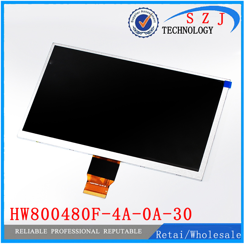 (Ref:HW800480F-4A-0A-30 40) HW800480F Original 9 inch LCD LCM Display PANEL screen 800*480 For Allwinner A13 Q9 Q90 Tablet PC