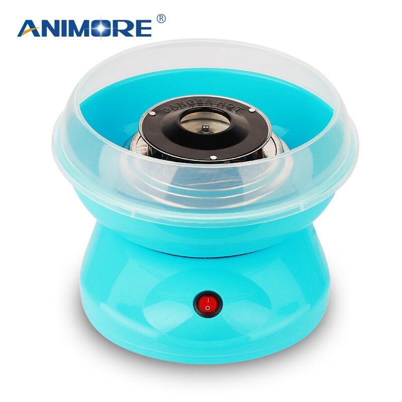 ANIMORE Électrique DIY Doux Cotton Candy Maker Guimauve Machine MINI Portable Coton Fil De Sucre Machine JK-MO5