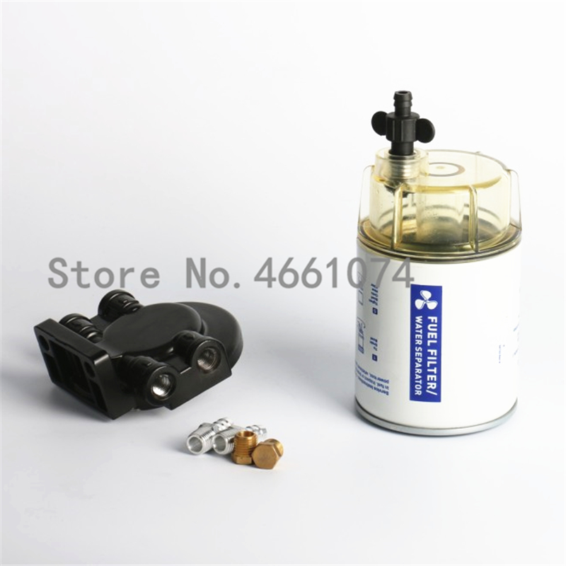 for Mercury Yamaha Outboard 10 Micron Boat Fuel Filter Marine Engine Fuel  Water Separator