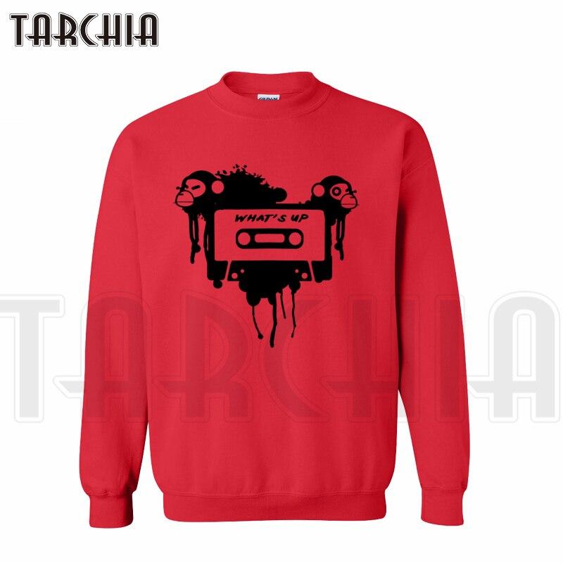TARCHIA New Brand Free Shipping Cool Monkey What is Up Streetwear Hot Sell Sweatshirt Man Hoodies Casual Homme Boy Women