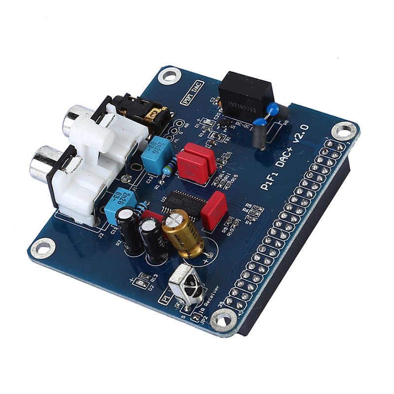 Pifi Digi DAC + HIFI DAC Audio Sound Card Modul I2S Antarmuka untuk Raspberry Pi 3 2 Model B B + Audio Digital Kartu Pinboard V2.0