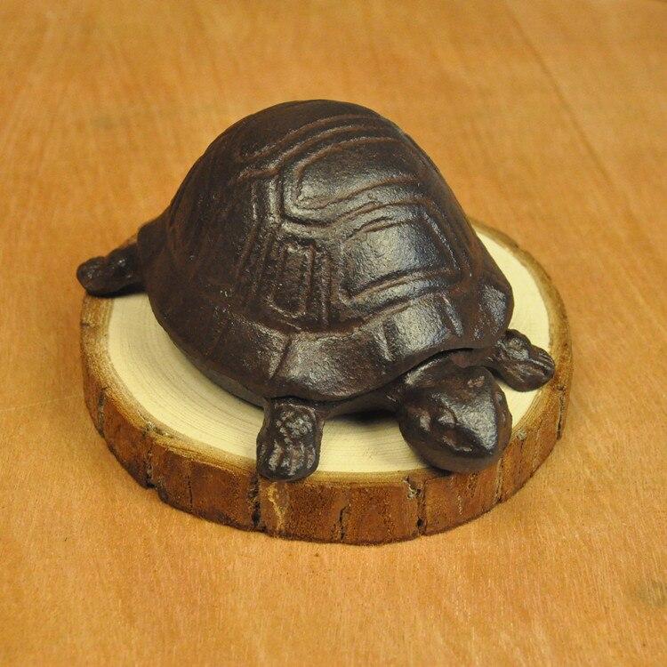 Aliexpress.com : Buy Cast iron turtle key box creative