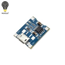 WAVGAT 5V 1A Micro USB 18650 Lithium Battery Charging Board Charger Module+Protection Dual Functions TP4056