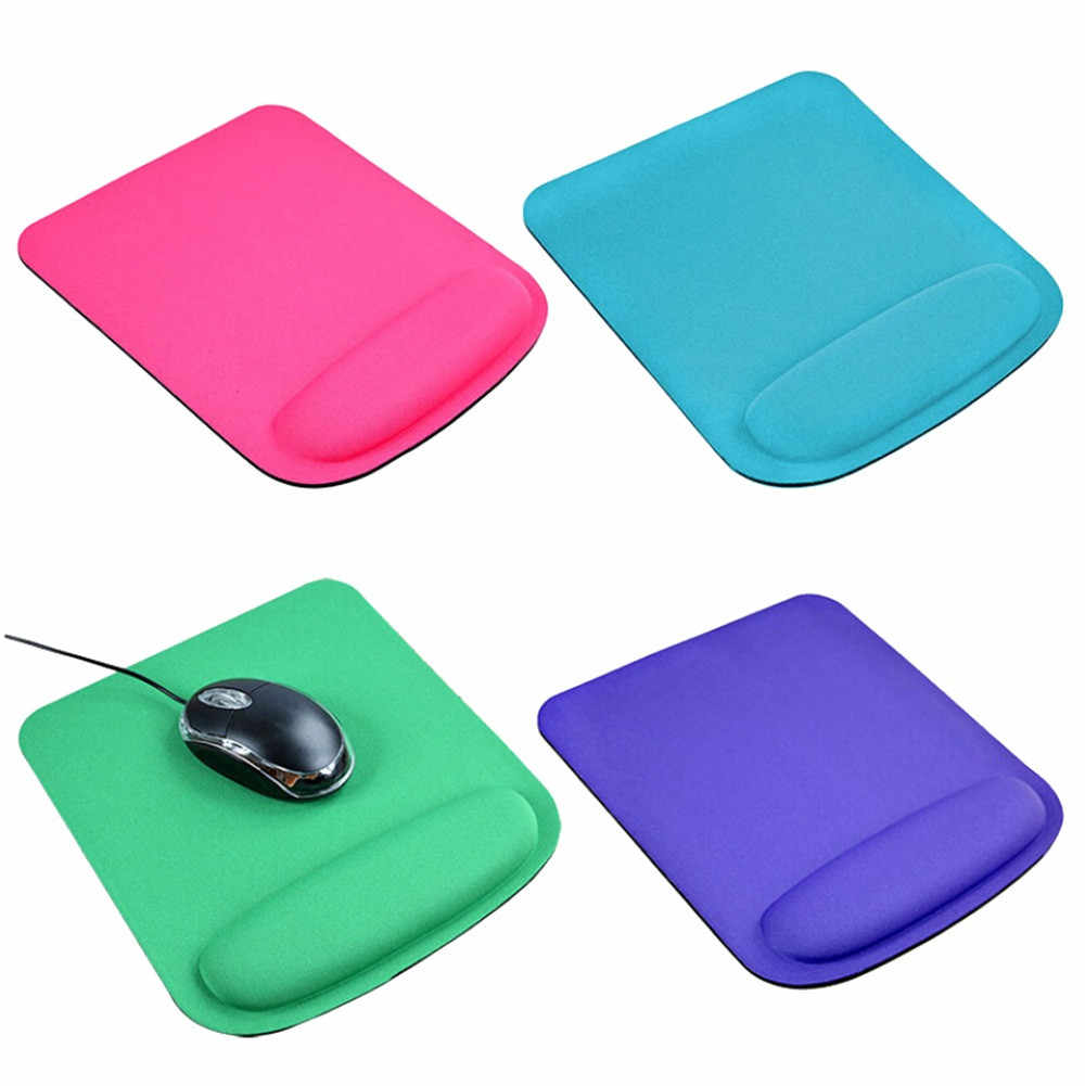 Mouse Pad Gel Penyangga Pergelangan Tangan Permainan Tikus Mouse Mat Pad untuk Komputer PC Laptop Anti Slip Mouse Pad 20.5 25 Cm X 25 Cm Tapis De Souris